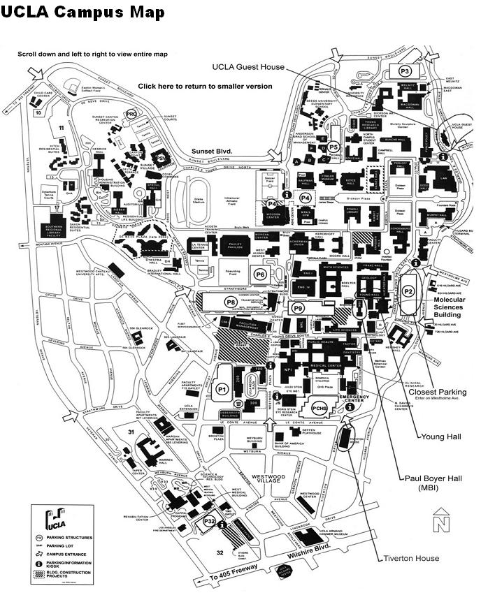 Ucla Campus Map Pdf Beautiful Ucla Map Pdf Pictures   Printable Map   New  Ucla Campus Map Pdf
